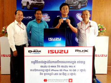 ISUZU Blue Power Test Drive Campaign in Jun 2016