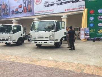 ISUZU Truck Display at CCA EXPO in Dec 2016